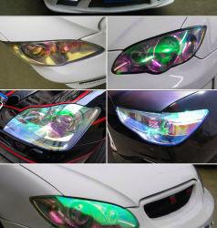 헤드라이트 보호 필름 차 색깔 빛 필름 변경 카멜레온 차 빛 필름