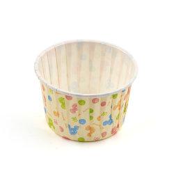 Venda a quente Suflê descartáveis de papel 2 Oz molho shoyu Cup para assar