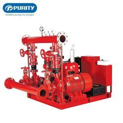 Nfpa20 Edj 500gpm elektrischer Dieselmotor-Jockey gefahrene Feuerbekämpfung-Wasser-Pumpe