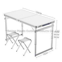 Camping Wandern Angeln Stuhl Multifunktions-Aluminium-Legierung Klapptisch