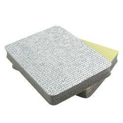 방음 내화성 재료 것 옆 순수한 알루미늄 1 옆 지붕 열 격리된 Rolls Polyolefin 방수 XPE 거품