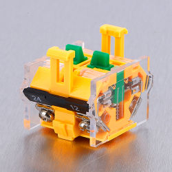 La165-B8 Commutateur à bouton poussoir de verrouillage momentané 1 Vert 1 contacteur rouge grand commutateur à bouton poussoir en plastique