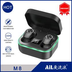 Smart Touch 5.0 estéreo Bluetooth realmente inalámbrico Bluetooth Auriculares con reducción de ruido de juegos