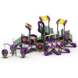 Faites glisser les enfants jouet en plastique Parc de loisirs des enfants de l'équipement de terrain de jeux de plein air