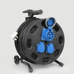Embases Cordons d'alimentation électrique de l'extension du tambour de câble type escamotable