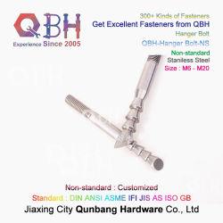 Qbh no estándar de acero inoxidable de cartón personalizadas lavabo y wc Closestool Wc apenas la tuerca del perno del colgador Sanitaryware