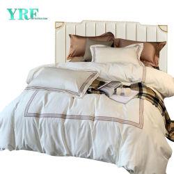 Homestay 현대 1인용 침대를 위한 작풍에 의하여 수를 놓는 호텔 리넨 편리한 면