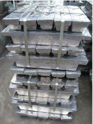 鉛のインゴットは99.99%の鉛の餌鉛電池のスクラップの鉛地金の酸の鉛電池の版の鉛棒価格を流出させた