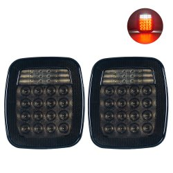 Luce posteriore a LED luce di coda per veicoli Jeep