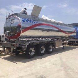 半サウジアラビアAramcoの新しいアルミ合金5454のディーゼル油のタンカーのトレーラーの空気中断42000liter燃料タンクのトレーラー