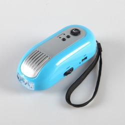 Yichen Multi Functional Wind Up Dynamo Taschenlampe mit FM Radio