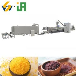 China Man maakte Rice machine kunstmatige rijst voedingsrijst gesterkt Rijstextrusiemachine