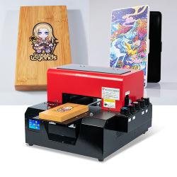 """حجم A4 صغير مخصص تخصيص طابعة سطح المكتب من نوع """"آلة الطباعة فوق البنفسجية"""" للخشب / الجلد / البلاستيك / الزجاج"""