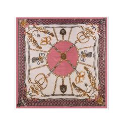 قبول تصميم مخصص الحرير طباعة مربع وشاح السيدات فلورال يدويا وشاح حرير من الصين حجاب هندي دافئ وشاح من الفراء