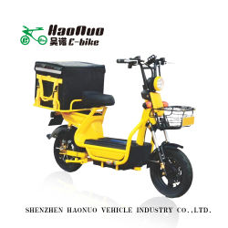 10 pouces roue Tubelee 60V 20Ah batterie plomb-acide 500watt vélo électrique du moteur pour prendre des affaires