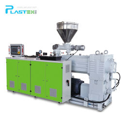 PVC 재질 이중 나사 플라스틱 돌출 생산 라인