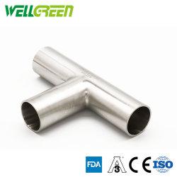 تركيبة أنابيب من الفولاذ المقاوم للصدأ 304 تركيبة على شكل حرف T (من النوع T، Y)