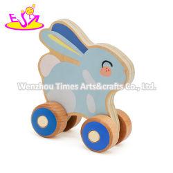 Наиболее популярные Cute заяц деревянные игрушки для детей W04A412