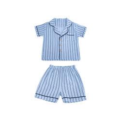 فصل الصيف البارد وقت قصير النوم القطن الطفل باخاماس الأطفال سليبالارتداء الأطفال الملابس