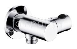 Parentesi capa accessoria dell'acquazzone della parete della stanza da bagno d'ottone registrabile del bicromato di potassio con il supporto dell'acquazzone