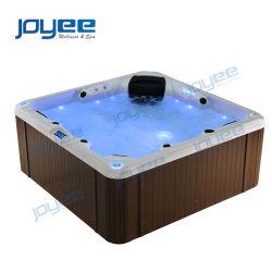 Joyee entspannen sich im Freienbadekurort Bad mit Luftblasen-Düsen-Massage-Ausgangsgebrauch BADEKURORT