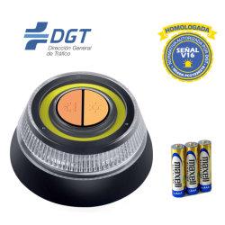 Nueva actualización de emergencia LED Testigo con función secuencial resistente al agua IP54, la calidad de la luz de advertencia de seguridad vial Semáforo LED