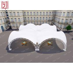 خيمة ستارة مظللة مع شكل أرجوحة خارجية