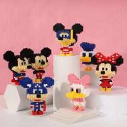 Venta caliente DIY Mini Legoing personaje de dibujos animados Juegos de bloques de construcción para niños