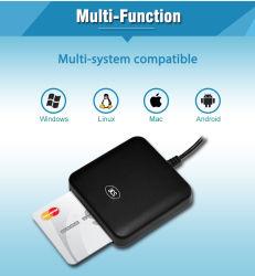 Lettore di schede chip IC EMV portatile USB ISO 7816 per PC ACR39u-U1