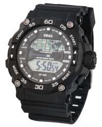 2019人の男性用チャーミングな腕時計、プラスチックケースのスポーティな腕時計、耐水性5ATM