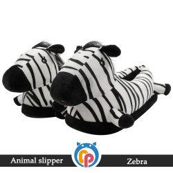 New Style Fashion Custom Cute Animals Zebra غرفة نوم ناعمة للغاية شباشب داخلية وثيرة
