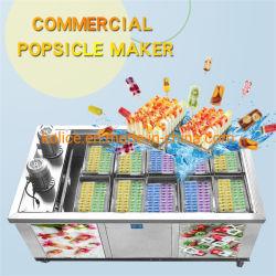 機械氷のアイスキャンデーメーカーを作る10の型の氷Lolly