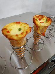 2021 전문점 피자 콘 메이커/스낵 가게 콘이 있습니다 피자 성형기/CE 피자 콘 기계와 로타리 오븐