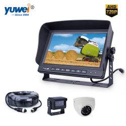 HD de 1080P 7 polegadas carro autônomo monitores com volta&Dome no interior de câmaras para VPM
