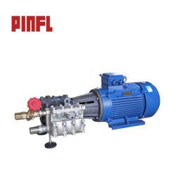139lpm 36.7gpm 100bar 1450psiの高圧車の洗浄のプラント機械、ポンプモーター単位