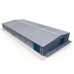 الهيكل المعدني للمقاطعة الصناعي الواضح لبناء ورش العمل