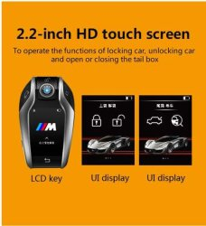 4つのボタンのスマートな車の遠隔キーはBMW F20/F21/F22/F23/F45/F46の自動車部品ドイツ車のために取り替える