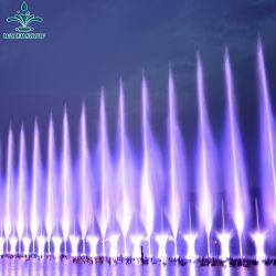 Grande fontana variopinta decorativa esterna popolare di esplosione del gas di Dancing di musica