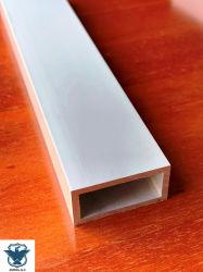 알루미늄 제조업체 - 알루미늄 사각형 튜브 프로파일 Al 파이프 사각형 돌출
