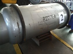 Het Gas van het Koelmiddel van de Verpakking hfc-227ea van de Cilinder van de ton