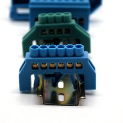 Terminal del cable carril DIN titular de los conectores eléctricos