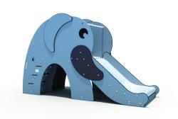 2020 새로운 디자인 더 나은 품질 코끼리 스타일 스테인리스 스틸 슬라이드 아이들을 위한