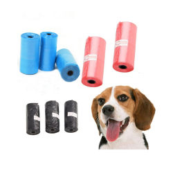 Factory Wholesale Customer Logo Printing composteerbare biologisch afbreekbare Pet Waste Dog Poop Bag Dog Waste Garbag Pet Products