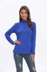 Senhoras Fashion blusa de manga longa e confortável tecido respirável