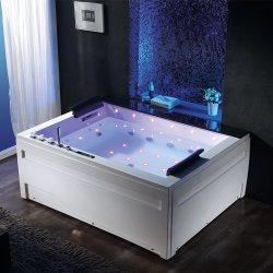 中国製ホーム装飾の安い価格のジャクージの浴室の渦のマッサージの浴槽の鉱泉の温水浴槽のアクリルのHydromassageのエプロンか造り