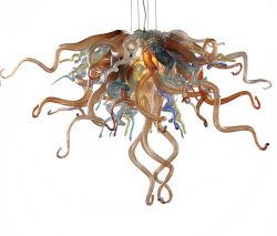 Lado lustre em vidro soprado Chihuly Estilo Art lustres de vidro (WH-BG-01)