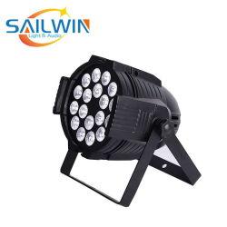 Quad Водонепроницаемые 18*10W 4в1 RGBW LED этапе PAR лампа