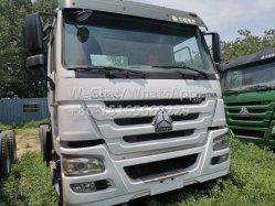 10 roues utilisé le tracteur Chef Excellent état bas prix 2016 modèle 375HP 6X4 20 ton camion tracteur pour le transport des unités