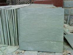Природные Split зеленый Slate плитки на полах (ВВЦ-93)