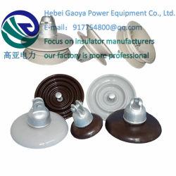Isolateurs en porcelaine de ligne haute tension